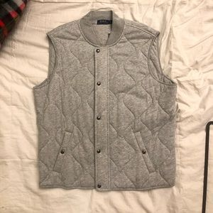 Polo Vest XL Gray